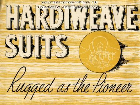 Hardiweave suits Rugged as the Pioneer