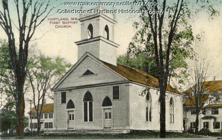 First Baptist Church, Hartland, ca. 1890