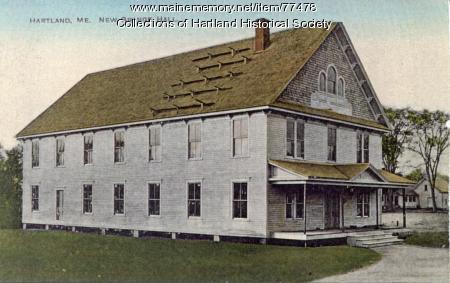 New Grange Hall, Hartland, ca. 1910