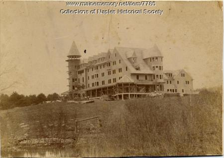 Construction, Bay of Naples Inn, ca. 1899