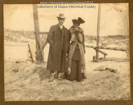 Commodore Robert Peary and Mrs. Peary