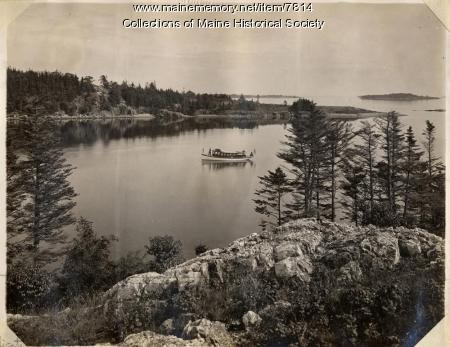 Cove near Castine, ca. 1910