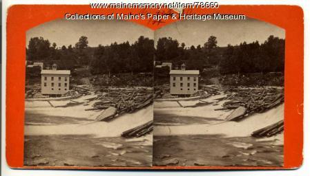 Umbagog Paper Mill, Livermore Falls, ca. 1881