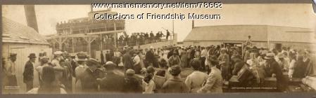 Camp Durrell Boys Leaving Friendship, ca. 1908