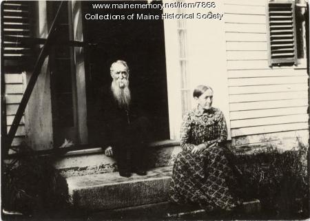 Edwin Payson and Lavina Reed Snow, Atkinson, ca. 1900