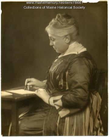 Eunice Nichols Frye, Portland, ca. 1910