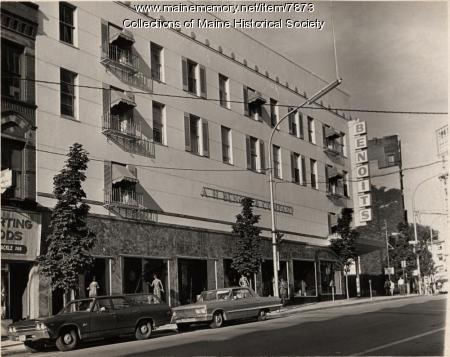 Benoit's clothing store, 1966