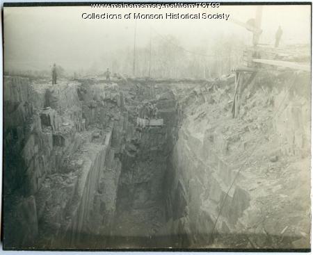 Monson Maine Slate Company, ca.1900