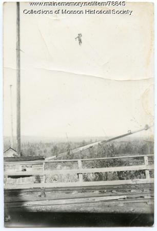Oscar Suomi,  Monson, ca. 1930
