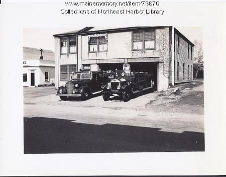 Northeast Harbor Firehouse, ca. 1930