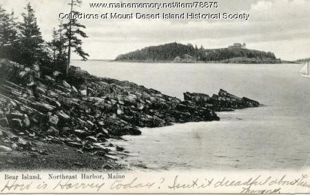 Bear Island, Northeast Harbor, ca. 1905