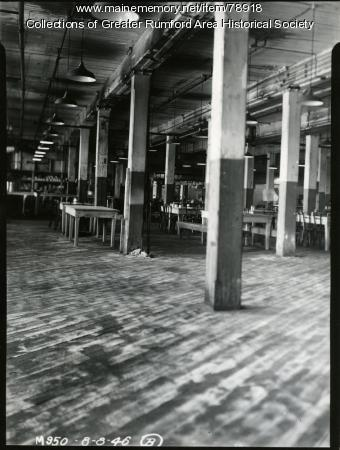 Bag Mill bachelor housing, Rumford, 1946