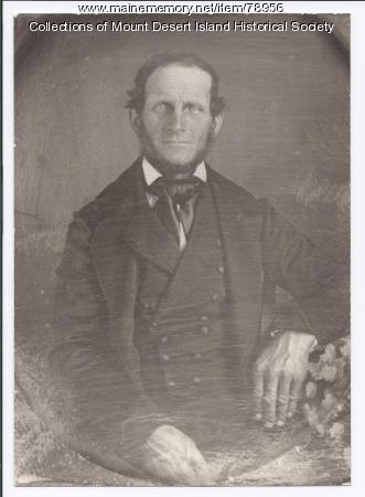 Abraham Somes III, Somesville, ca. 1855