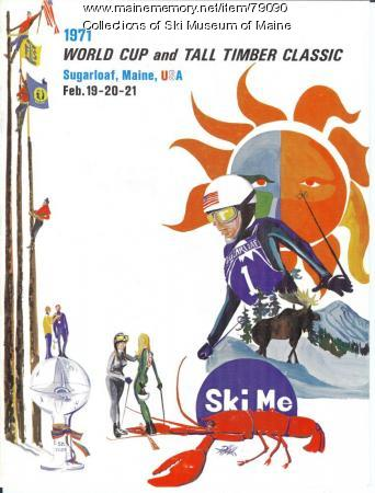 World Cup Program Cover, Sugarloaf, 1971