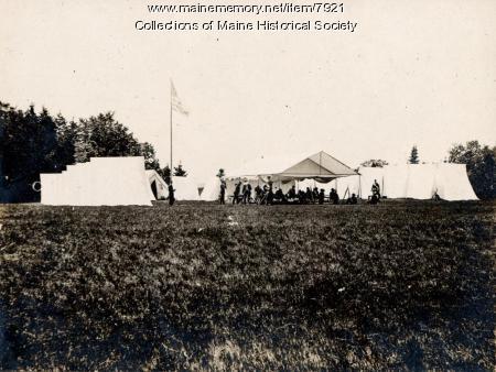 High Head cadet camp, 1896