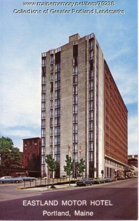 Eastland Motor Hotel, Portland, ca. 1965