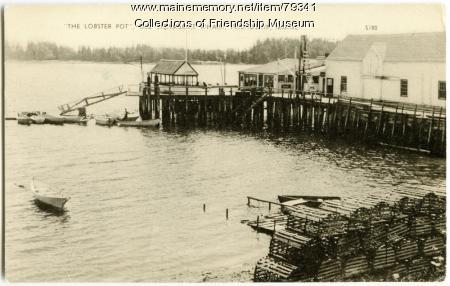 The Lobster Pot, Old Steamboat wharf, ca. 1945
