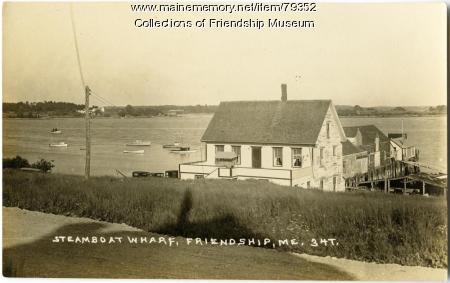Steamboat Wharf, ca. 1930