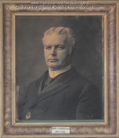 Hugh J. Chisholm, ca. 1920