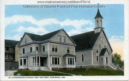 St Athanasius Church, Rumford, ca. 1912
