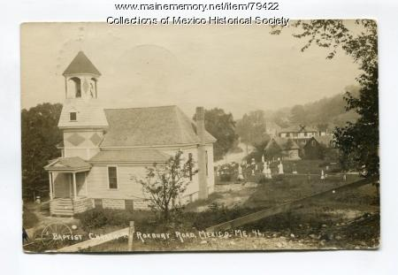 Mexico Baptist Church, ca. 1903