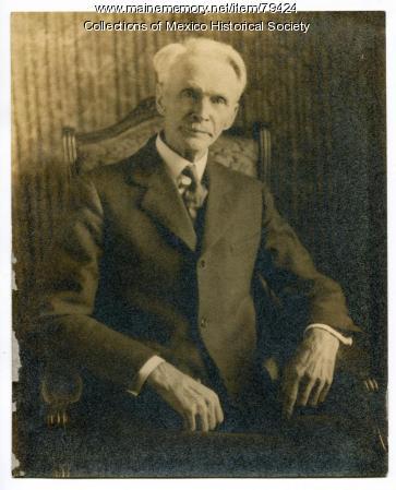 Horace J Binford M.D., Mexico, ca. 1920