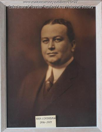 Hugh J. Chisholm Jr., ca. 1912