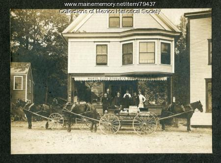 Charles Stanley Sons Market, Mexico, ca. 1900
