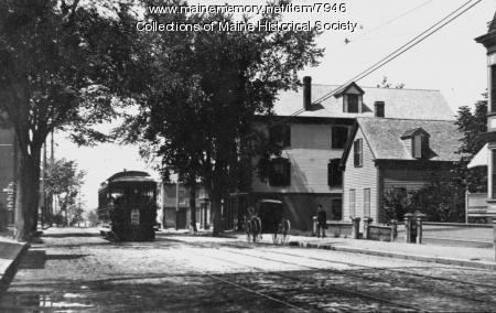 Trolley, Portland, ca. 1895