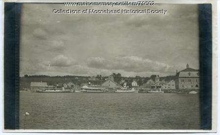 Steamboats, Moosehead Lake, ca. 1910
