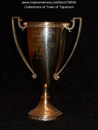Trophy for the Androscoggin No. 2, Topsham, 1964