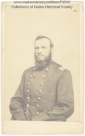 Mjr. Paul Chadbourne, Waldoboro, ca. 1865