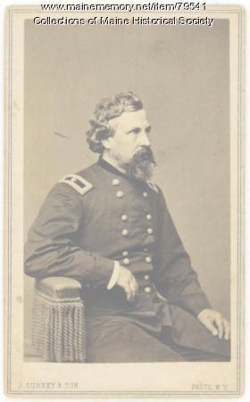 Brig. Gen. George F. Shepley, Portland, ca. 1864