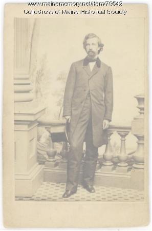George F. Shepley, Portland, 1861