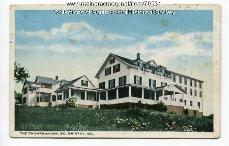The Thompson Inn in South Bristol Village ca. 1924