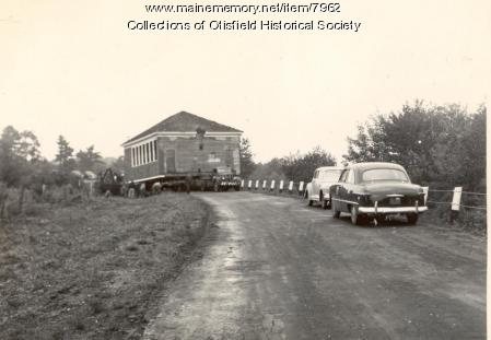 Spurrs Corner School, Otisfield, ca. 1950