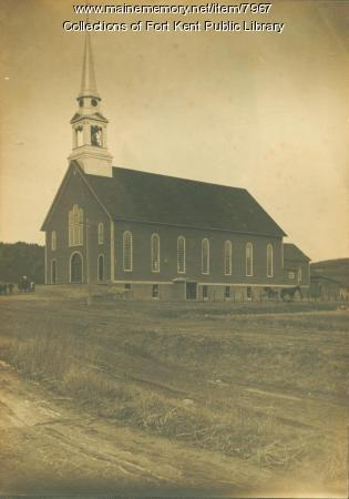 Exterior of Saint Louis Church, Fort Kent