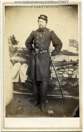 Maj. Ellis Spear, 20th Maine, 1864
