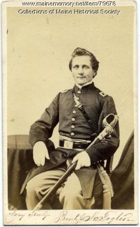 Prentiss M. Fogler, 20th Maine, ca. 1862