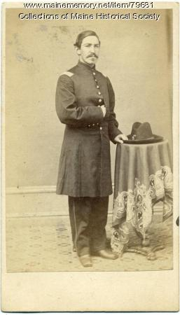 Capt. Joseph F. Land, 20th Maine, ca. 1863