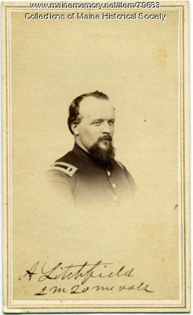Alden Litchfield, 20th Maine Infantry, ca. 1862