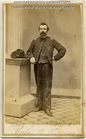Capt. Rufus B. Plummer, 20th Maine, ca. 1862