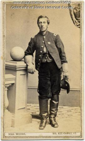 Granville M. Baker, 20th Maine Regiment, ca. 1863