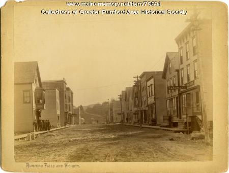 Congress Street, Rumford, ca. 1893