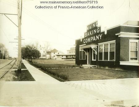 Maine Baking Company Store, 1928