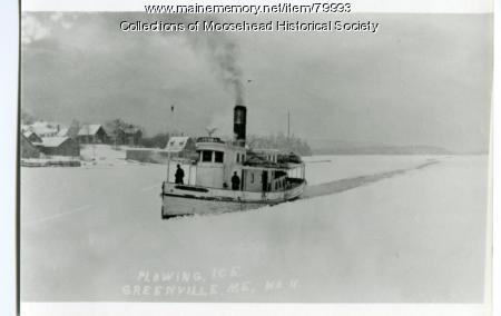 Steamboat Louisa, Moosehead Lake
