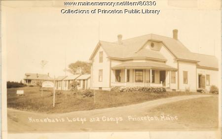 Kennebasis Lodge & Camps, Indian Township, ca. 1945