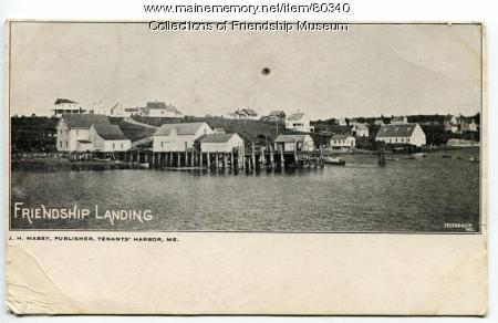 Jameson & Wotton Wharf, Friendship, ca. 1905