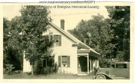 3 Bacon Street, Bridgton, ca. 1938