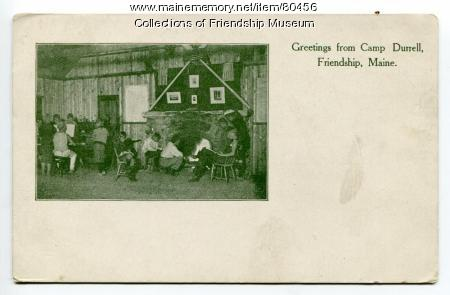 Greetings from Camp Durrell, ca. 1908